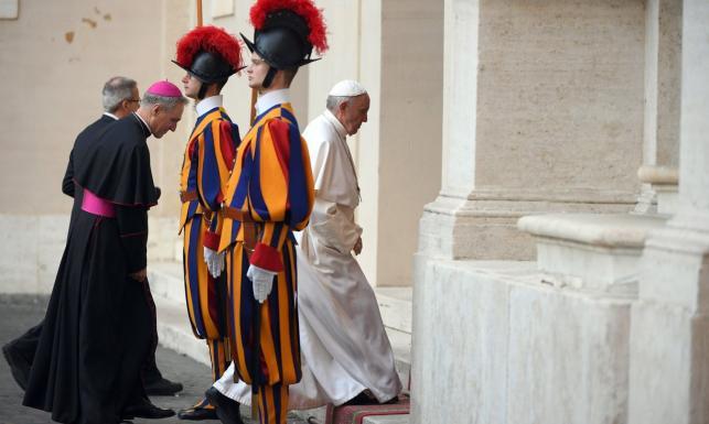 Papież do przywódców UE: Unia to nie zbiór zasad i protokołów, ale życie. Na audiencji m.in. Szydło i Tusk [FOTO]