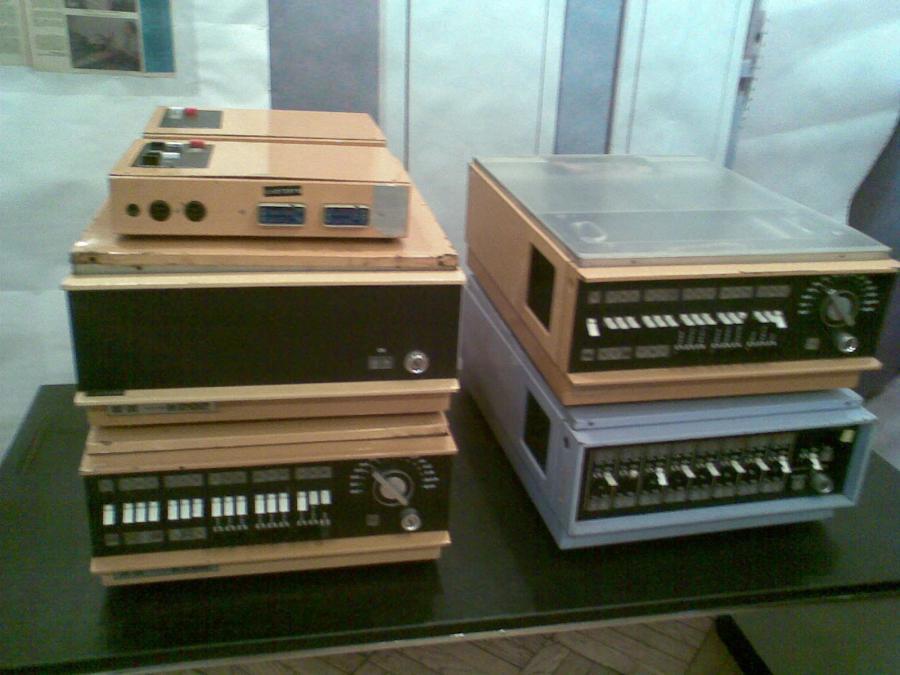 Minikomputer K-202 z urządzeniami peryferyjnymi