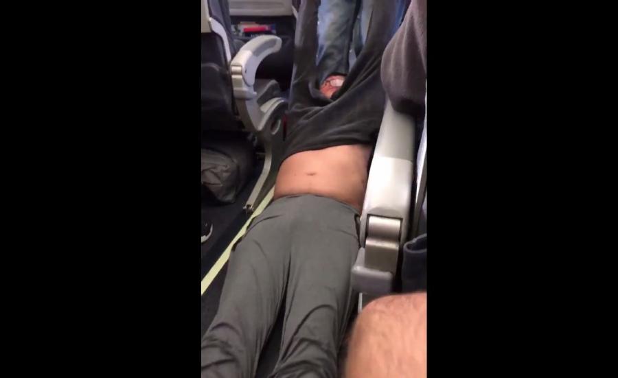 Pasażer usunięty siłą