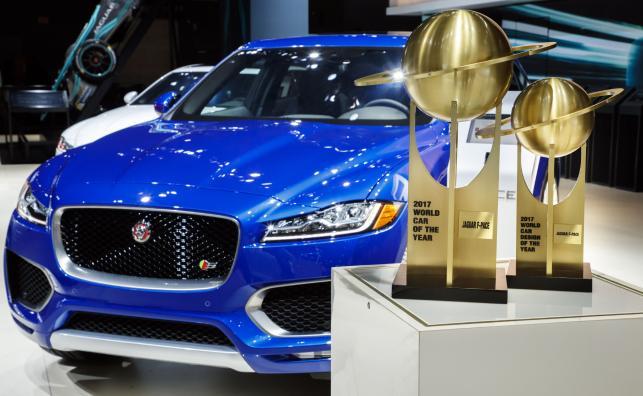 Jaguar F-Pace - najlepszy samochód 2017