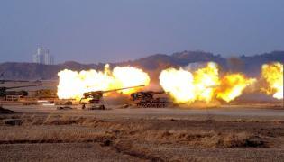 Północnokoreańska artyleria