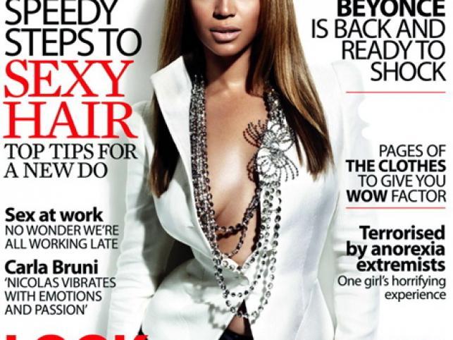 """Beyonce w pażdziernikowym """"Marie Claire"""""""