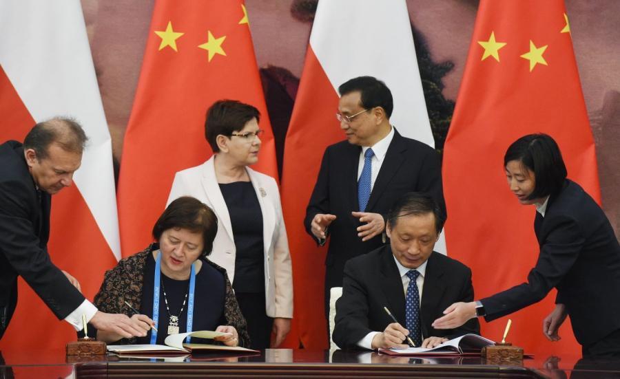 Beata Szydło w Chinach