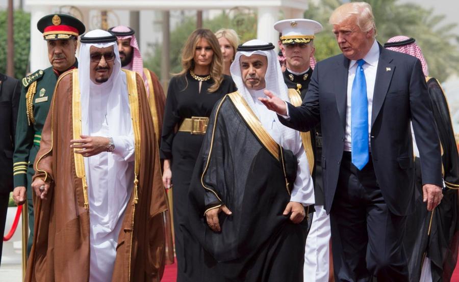 Wizyta Donald Trumpa w Arabii Saudyjskiej