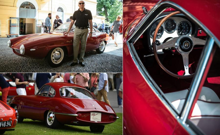 Alfa Romeo Giulietta Prototipo z 1957