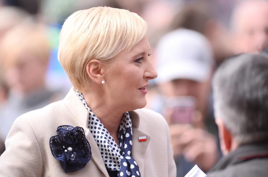 Agata Duda pierwsza dama