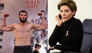 Mamed Khalidov i Joanna Mucha