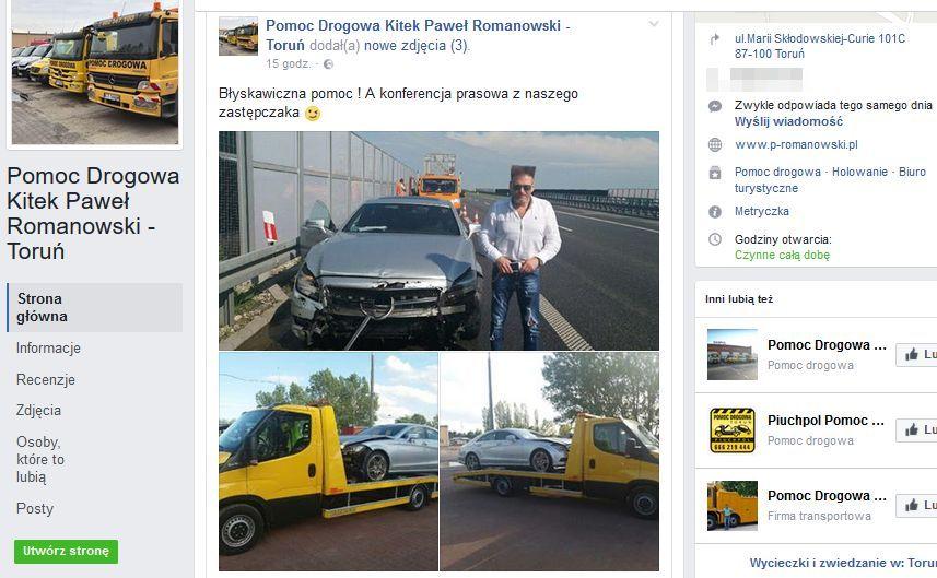 Krzysztof Rutkowski po wpadku