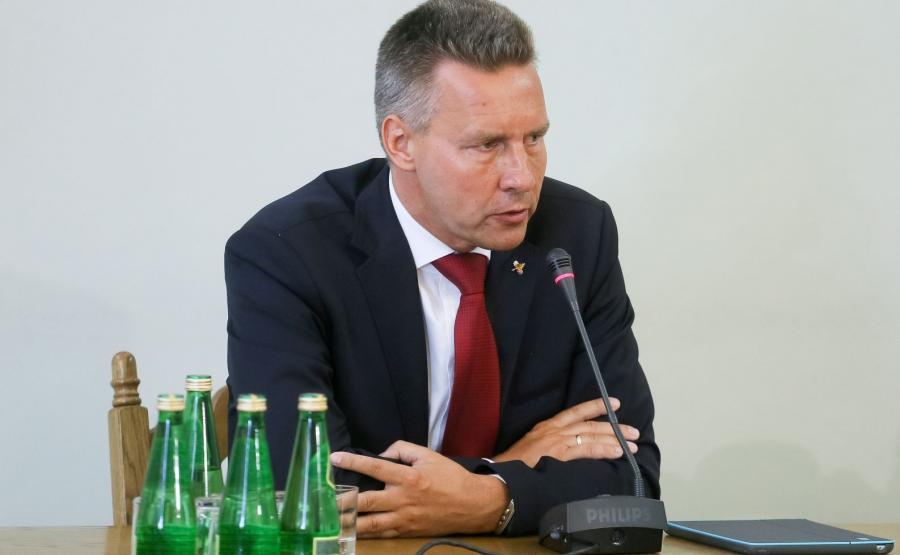 Tomasz Kloskowski zeznaje przed komisją
