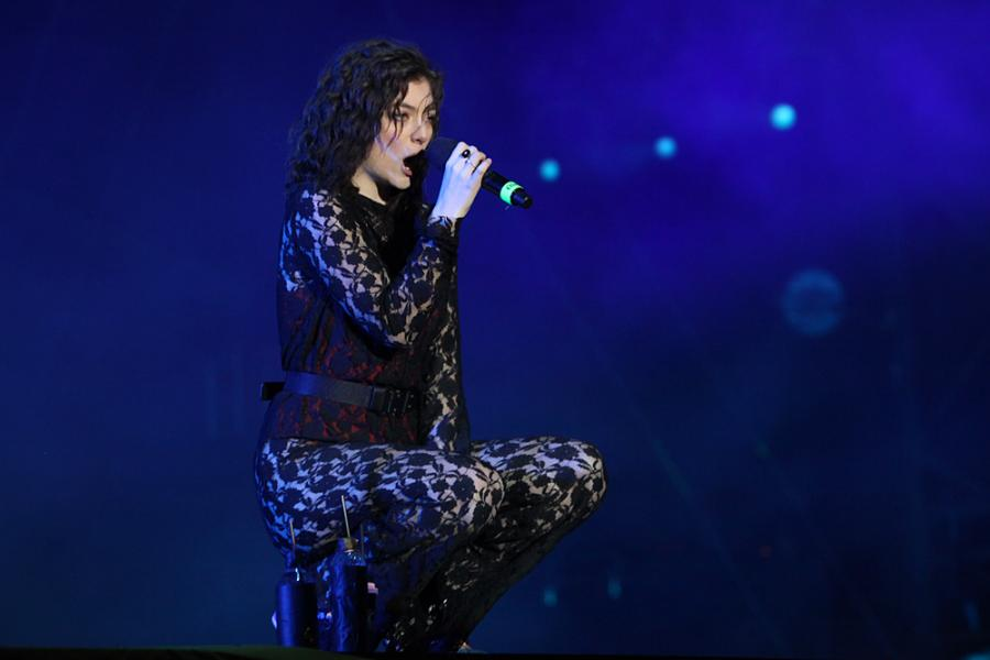 Lorde na festiwalu Open'er 2017. 01.07.2017.