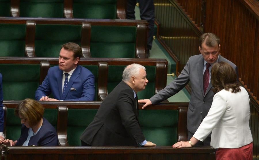 Jarosław Kaczyński, Mariusz Błaszczak, Beata Mazurek