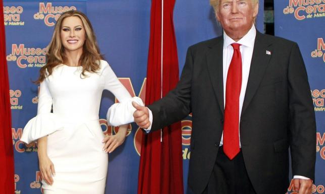 Melania się wścieknie? W Madrycie pokazano nowe figury woskowe Trumpów. FOTO