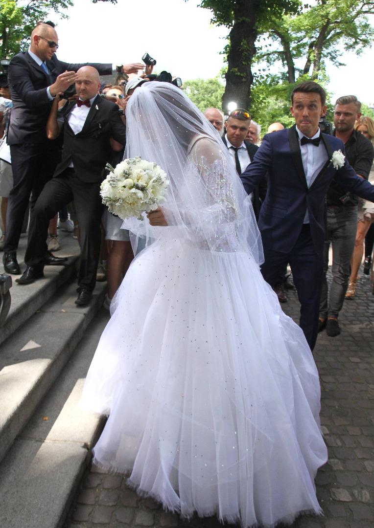 Agnieszka Radwańska i Dawid Celt wzięli ślub w Krakowie