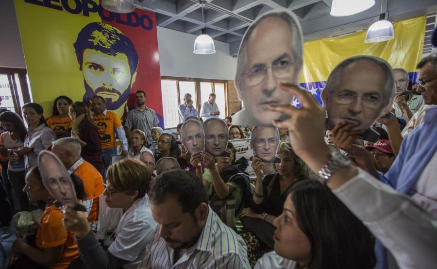 Protest wenezuelskiej opozycji