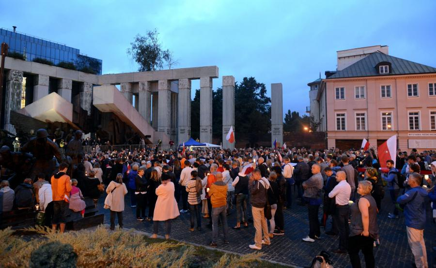 Protesty przed Sądem Najwyższym