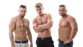 Seksowni mężczyźni
