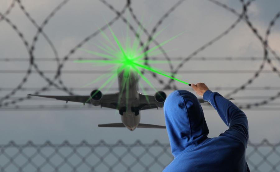 Oślepianie laserem