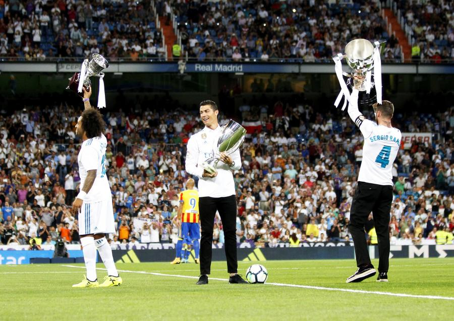 Marcelo, Cristiano Ronaldo i Sergio Ramos
