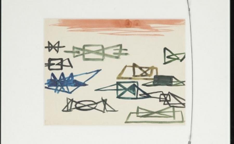 Kompozycja abstrakcyjna - Wróblewski