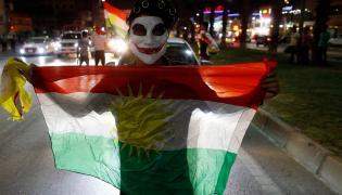 Kurdowie cieszą się z wyników referendum