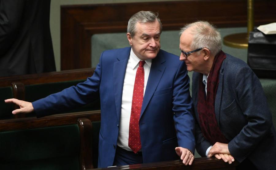 Piotr Gliński i Krzysztof Czabański