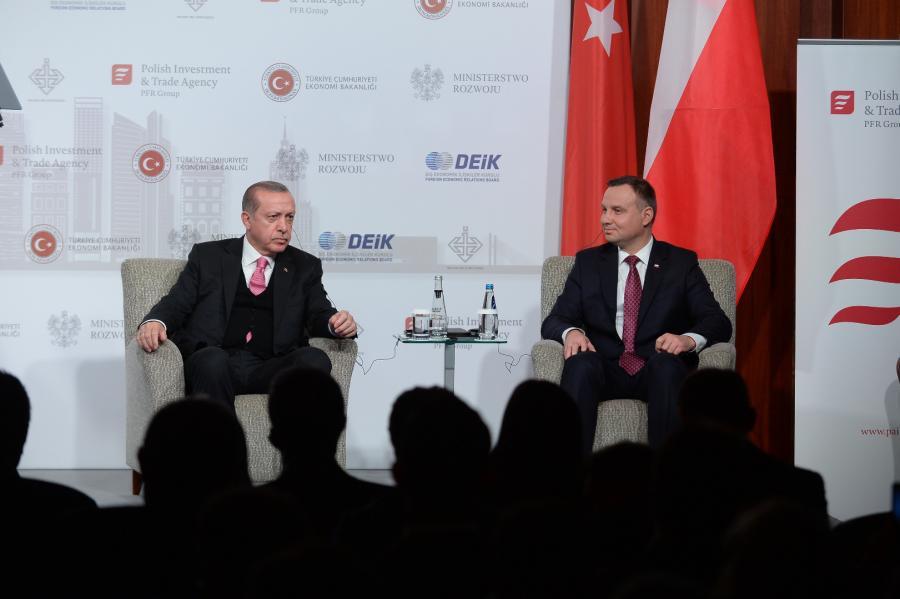 Prezydenci Turcji i Polski