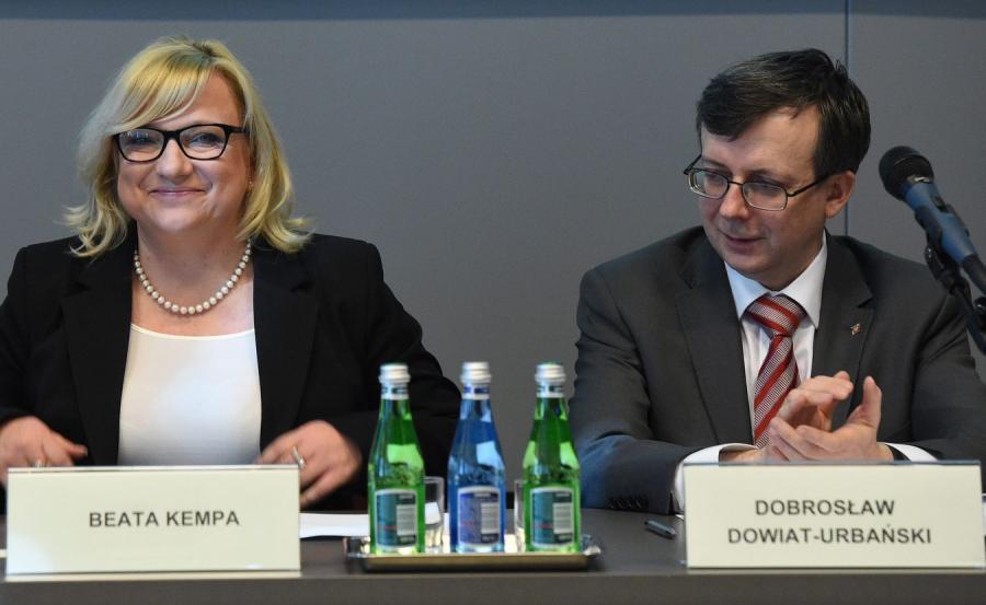 Beata Kempa i Dobrosław Dowiat-Urbański