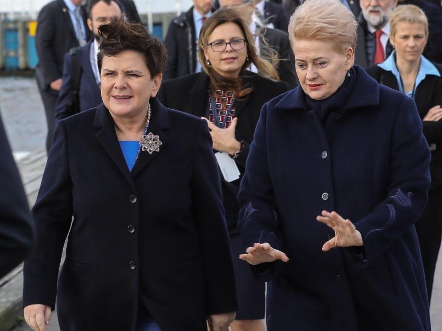 Beata Szydło i Dalia Grybauskaite