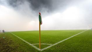 Skandaliczne zachowanie kibiców podczas meczu Legia - Górnik