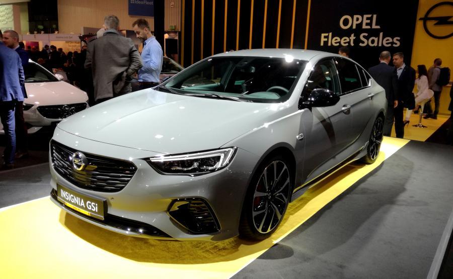 Opel Insignia GSi - szybka limuzyna dla menadżera