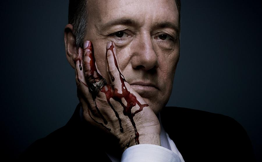 Kevin Spacey jako Frank Underwood w \