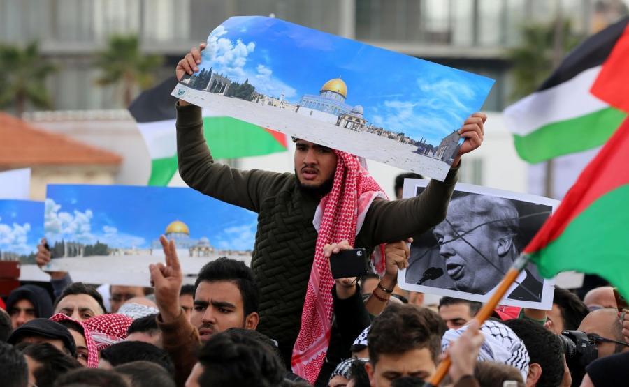 Protest Jordańczyków