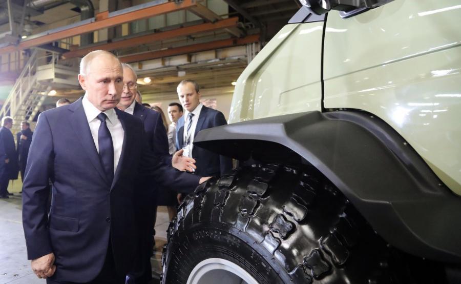 Zakłady w Niżnym Nowogrodzie przy ulicy Lenina 88 odwiedził sam prezydent Władimir Putin