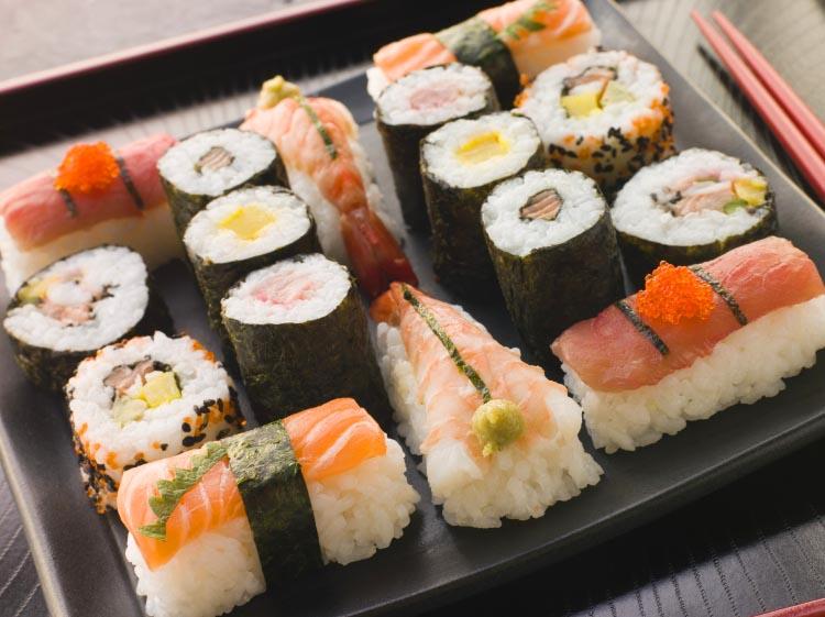 Sushi to patent na zdrowie i urodę
