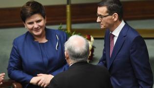 Szydło, Kaczyński i Morawiecki