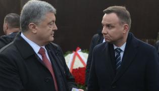 Andrzej Duda i Petro Poroszenko