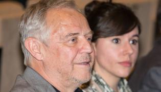 Marek Kondrat z żoną Antoniną