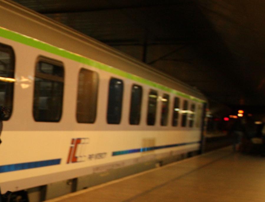 pociąg noc