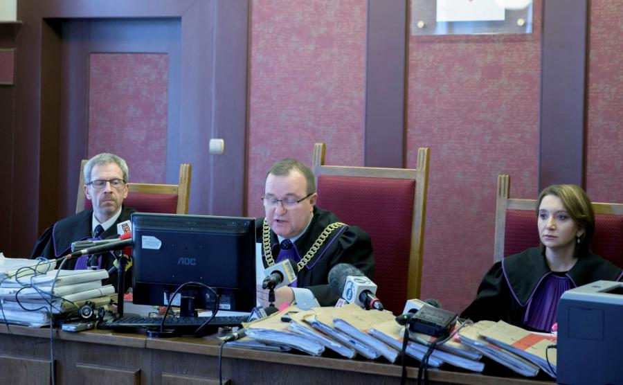 Sędziowie Robert Kirejew, Wojciech Kopczyński, Karina Maksym