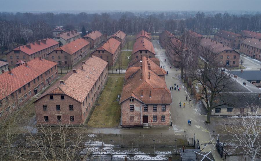 Były niemiecki obóz koncentracyjny Auschwitz