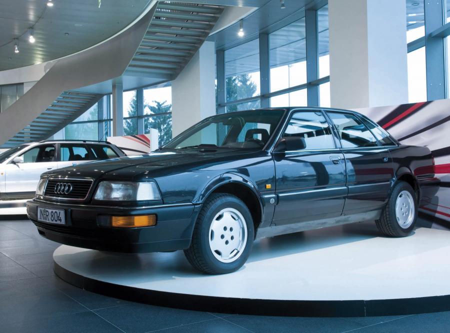 Audi V8 z aluminiowym nadwoziem