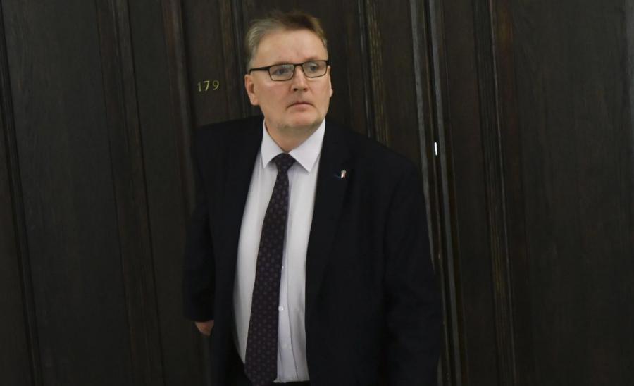 Na zdjęciu archiwalnym z 31.01.2018. Senator Waldemar Bonkowski