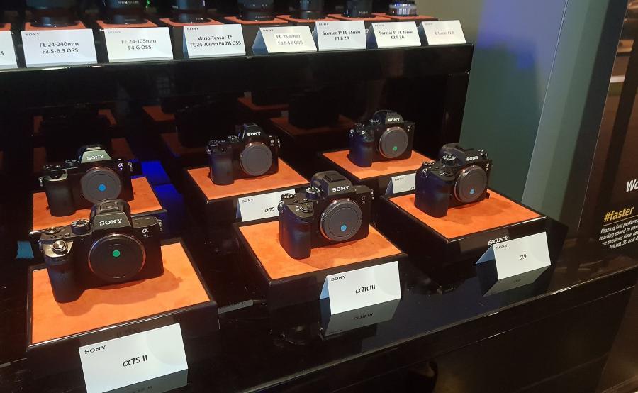 Aparaty fotograficzne Sony