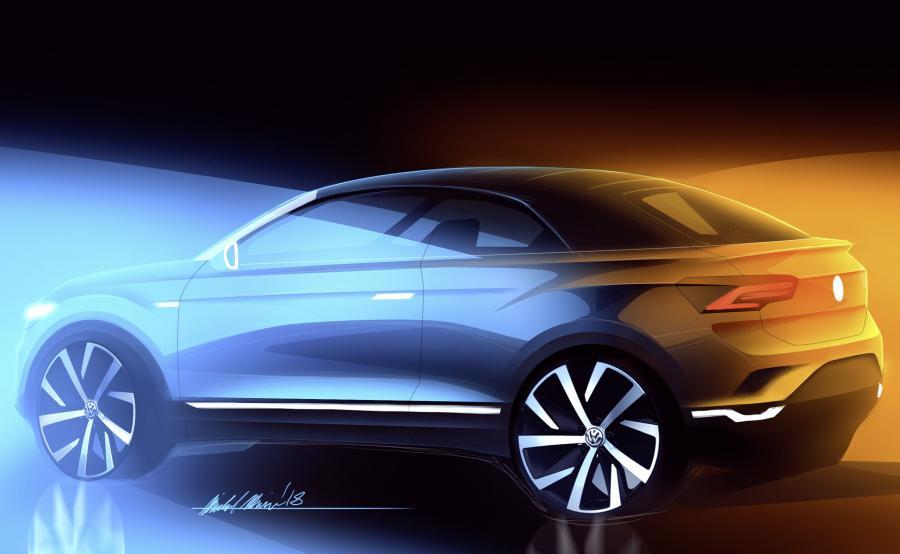 Range Rover Evoque Convertible będzie miał mniejszego i tańszego rywala? Decydując się na produkcję otwartego modelu T-Roc Volkswagen kontynuuje niemal 70-letnią tradycję budowy kabrioletów