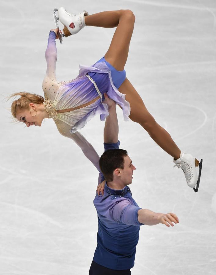 Aljona Savchenko i Bruno Massot