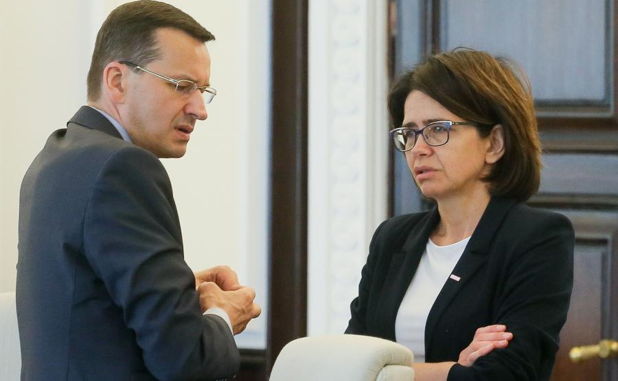Mateusz Morawiecki i Anna Streżyńska