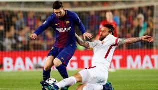 Lionel Messi i Daniele de Rossi