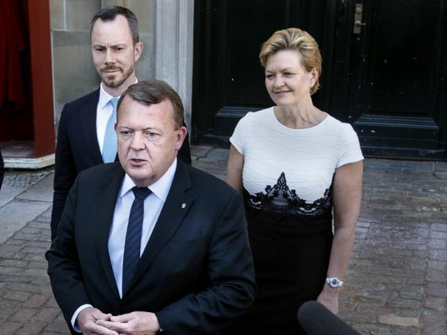 Jakob Ellemann-Jensen, Eva Kjer Hansen i Lars Loekke Rasmussen