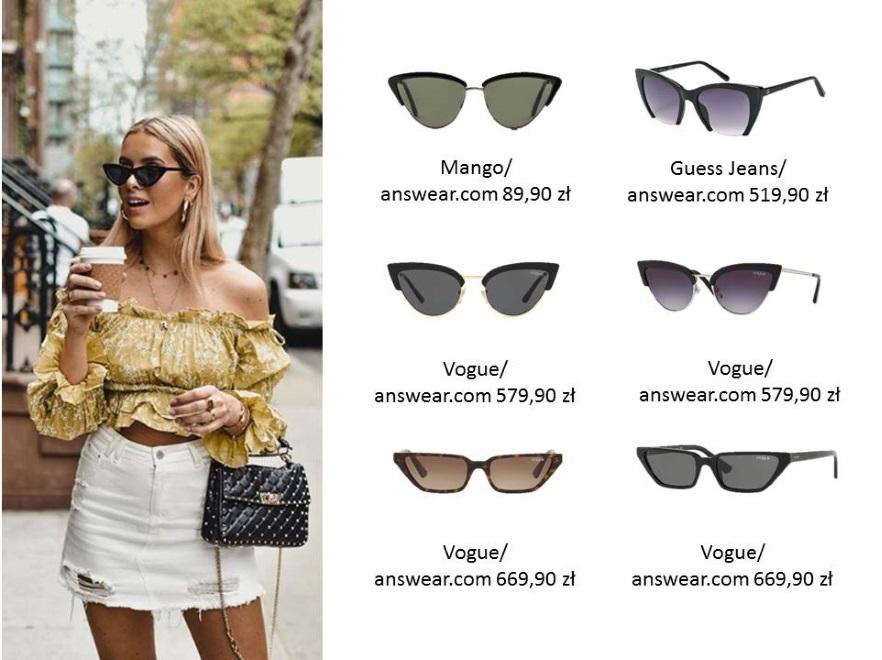 2845506d0b6a49 Zdjęcia: Stylowa ochrona oczu: modne fasony okularów ...