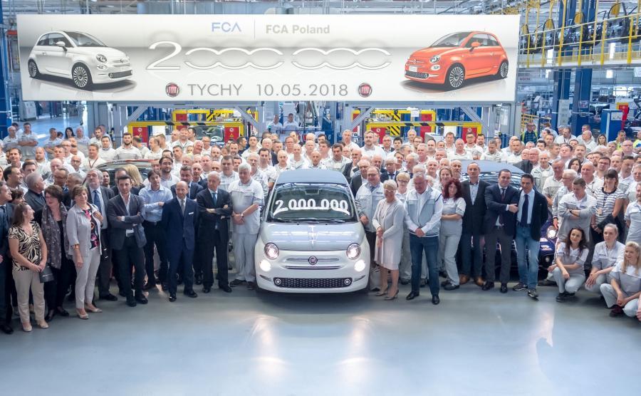 Fiat 500 Collezione - dwumilionowa \
